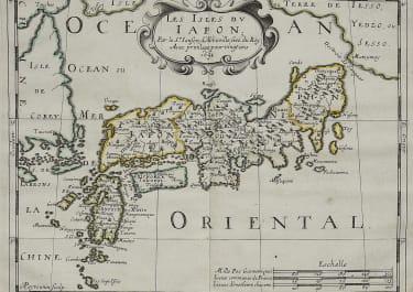 SANSON'S MAP OF JAPAN 1652