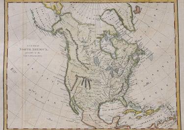 UNCOMMON NORTH AMERICA MAP