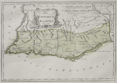 RARE MAP OF THE ALGARVE