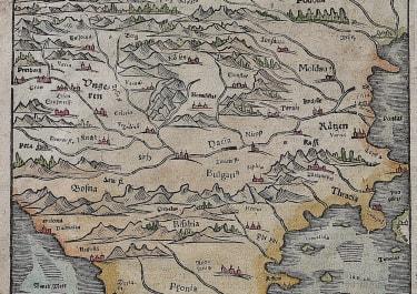 BALKANS HUNGARY BULGARIA BY MUNSTER