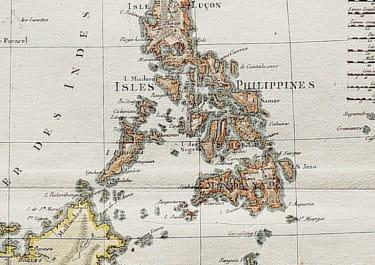 PHILIPPINES  EAST INDIES  BORNEO