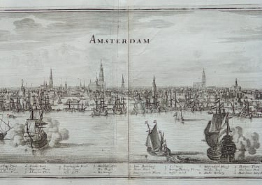MERIAN'S PANORAMA OF AMSTERDAM