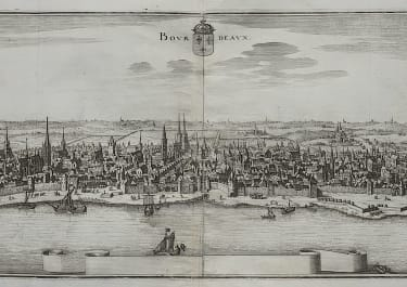 MERIAN'S PANORAMA OF BORDEAUX