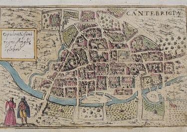 LASOR'S SMALL MAP OF CAMBRIDGE