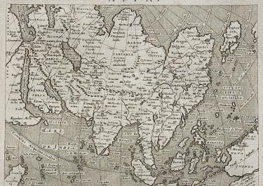 MAGINI'S MAP OF ASIA