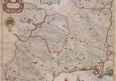 BLAEU'S MAP OF LANGUEDOC