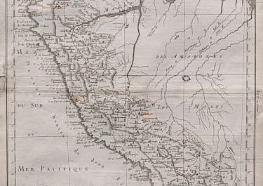 DETAILED MAP OF PERU & ECUADOR BY MOITHEY