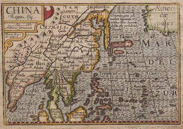 LANGENE'S MAP OF CHINA