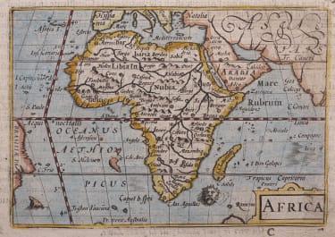 LANGENES MAP OF AFRICA