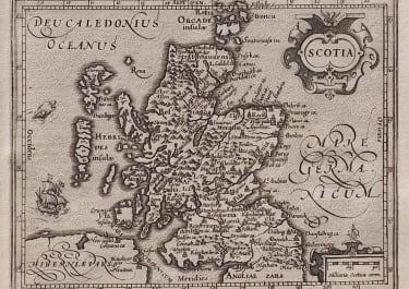 SCOTLAND  MERCATOR / HONDIUS