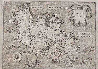 PORCACCHI'S MAP OF IRELAND