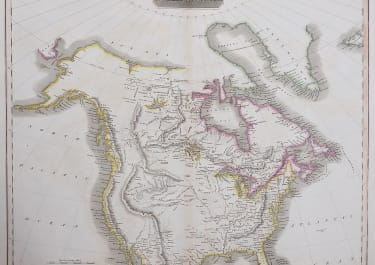 JOHN THOMSON'S MAP OF NORTH AMERICA