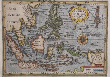 EAST INDIES  MERCATOR HONDIUS ATLAS MINOR