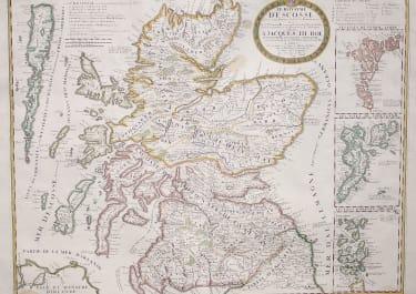 CORONELLI  NOLIN MAP OF SCOTLAND