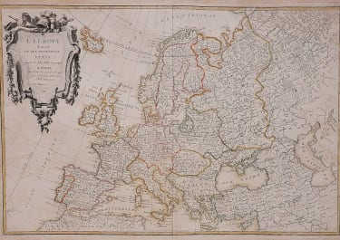 JANVIER'S MAP OF EUROPE