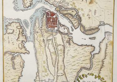 BELLIN'S RARE PLAN OF GALWAY IRELAND
