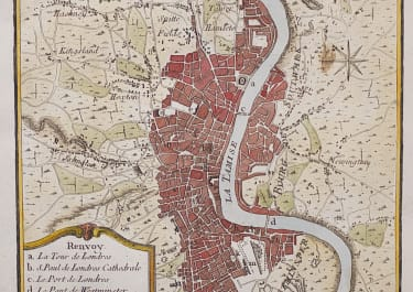 BELLIN'S PLAN OF LONDON
