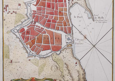 BELLIN'S UNCOMMON PLAN OF BARCELONA