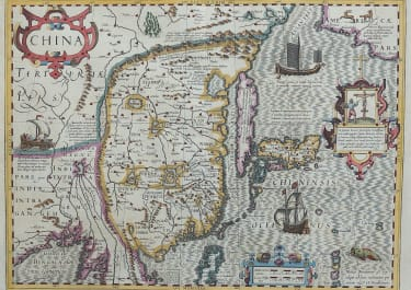 MERCATOR'S STUNNING MAP OF CHINA