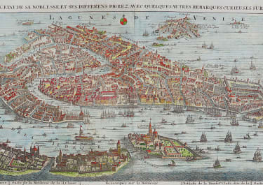 CHATELAIN'S STUNNING MAP VIEW OF VENICE