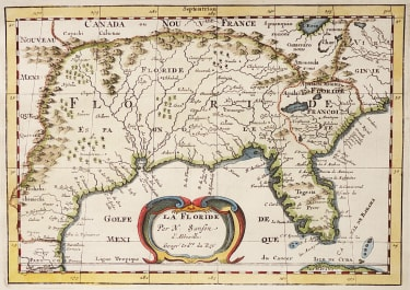SANSON'S MAP OF FLORIDA