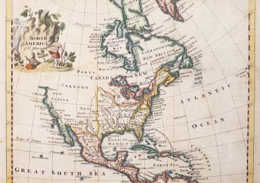 JEFFREYS SMALL MAP OF NORTH AMERICA