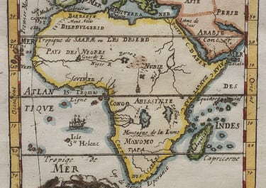 MALLET'S MAP OF MODERN AFRICA