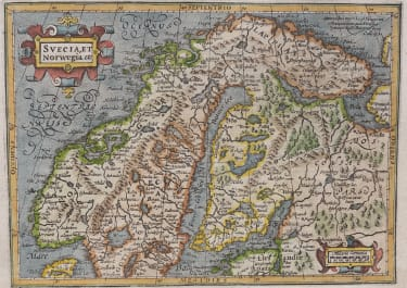 MERCATOR HONDIUS  SWEDEN, NORWAY & FINLAND