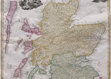 HOMANN'S MAP OF SCOTLAND