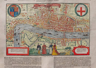 MUNSTER'S MAP OF LONDON