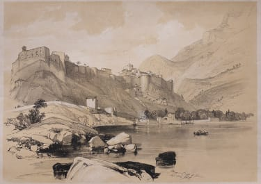 HARDING'S SUPERB LITHOGRAPH OF MONACO