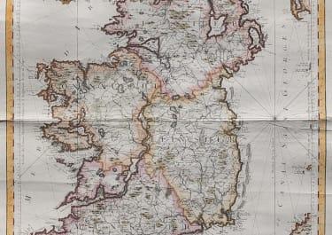 BELLIN'S MONUMENTAL MAP OF IRELAND