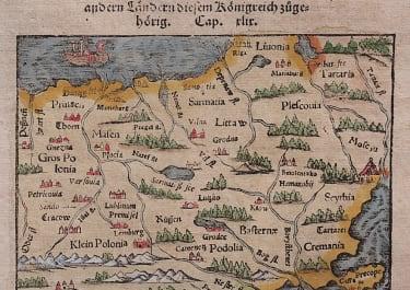 KINGDOM OF POLAND  MUNSTER 1578