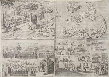 MAURITIUS  RARE WITH 3V VIEWS & 1 MAP MAURITIUS GAMMALAMMA  BANDA ISLES   DODO