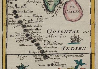 MALDIVES   MALLET 1693