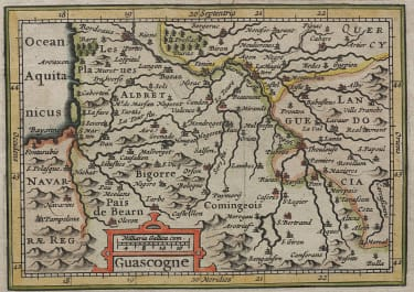 SOUTH WEST FRANCE GASCONY 1616