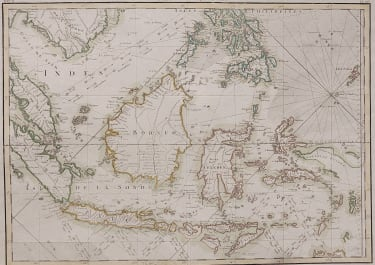 CHART OF THE EAST INDIES LATTRE