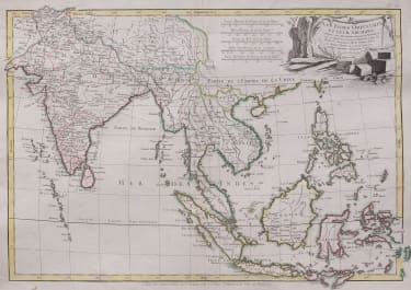 EAST INDIES  MALAYSIA & INDIA     BONNE LATTRE 1771