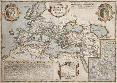 SMALL FOLIO ROMAN EMPIRE BASED ON ORTELIUS