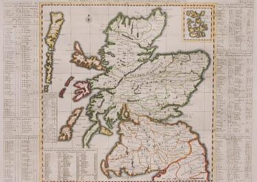 CHATELAIN FOLIO MAP OF SCOTLAND