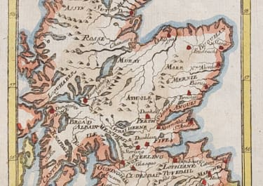 MALLET MAP OF SCOTLAND