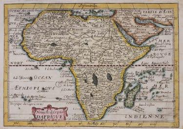 JOLLIAN RARE MAP AFRICA