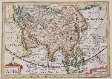 JOLLIAN RARE MAP OF ASIA