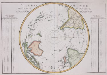 THE SOUTHERN HEMISPHERE   ANTARTIC