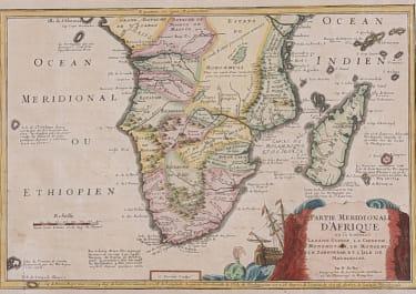 SOUTH AFRICA  .. DE FER