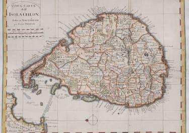 SRI LANKA  CEYLON TIRION  RARE ITALIAN EDITION
