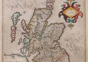 MERCATOR FOLIO  MAP OF SCOTLAND