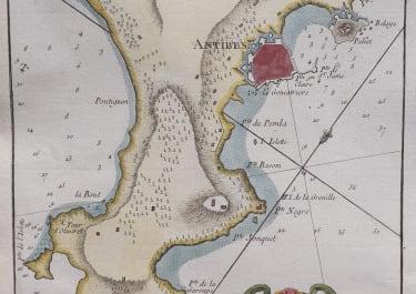 BELLIN CHART OF CAP D'ANTIBES