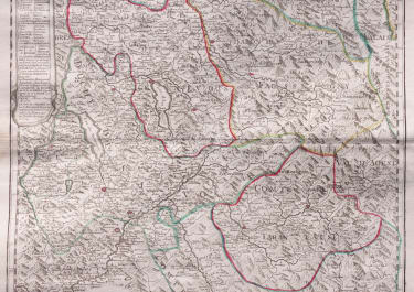 SAVOIE   DE L'ISLE MAP ISSUED BY DEZAUCHE