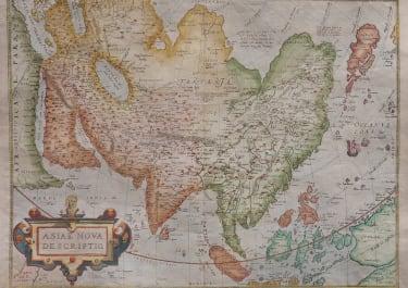 ORTELIUS FOLIO  ASIA